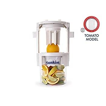 Image of Commercial Food Preparation Equipment Sunkist Growers | Pro Series Sectionizer with 7-Slice Tomato Blade Cup B-209 | Fruit/Vegetable Cutter | Food Preparation | Interchangeable Stainless Steel Blades | NSF Approved | Model B-209