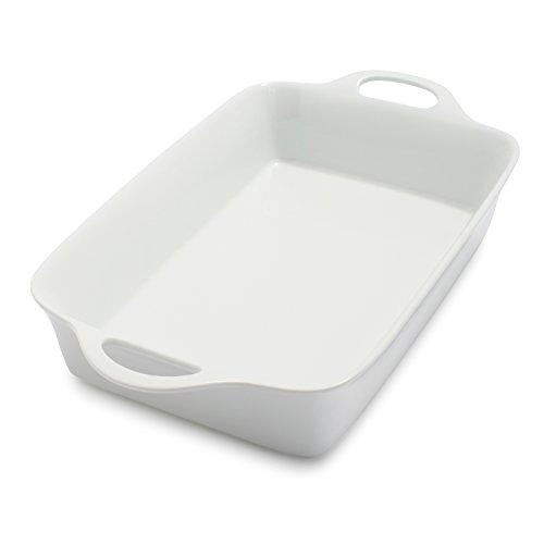 Sur La Table Rectangular Porcelain Baker UN30-206 , 6 qt.