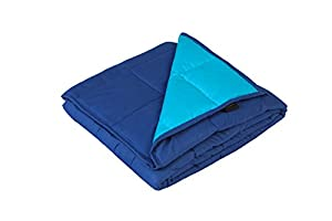 YnM Weighted Blanket by, Fall Asleep Faster and Sleep Better, Great for Anxiety, ADHD, Autism, OCD, and Sensory Processing Disorder, Various Sizes and Colors Available for Adults and Children by YnM