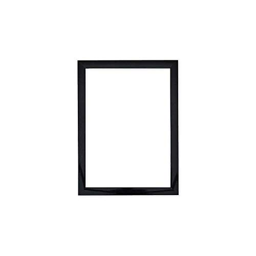 (Paintings Frames Gloss Picture/Photo/Poster Frame with an MDF Backing Board Ready to Hang-with A High Clarity Styrene Shatterproof Perspex Sheet (25.4 x 25.4cm) 10