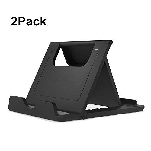 Cell Phone Stand, Tablet Stand, Asstar Universal Foldable Multi-angle Desktop Holder for Smartphone, Tablet(6-11