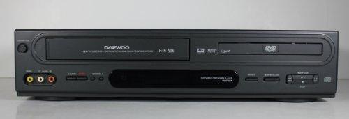 Daewoo DV6T834N DVD/VCR Combo Hi-Fi Stereo Video Cassette Re