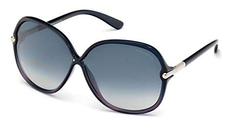 Tom Ford Women's Islay Sunglasses Tf224 92Z, Blue/Purple