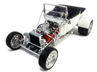 1923 Ford T Bucket Weiß ConGrünible 1 18 Model Car by Road Signature by Road Signature