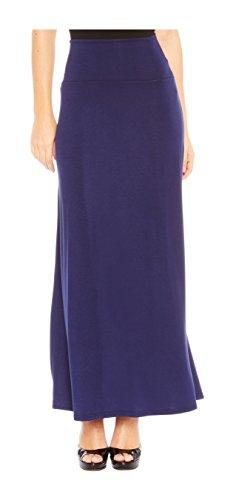 Blue Long Skirt - 5