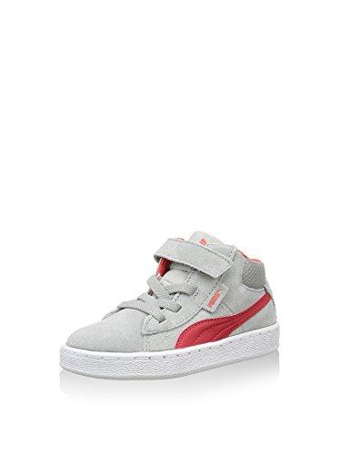 Puma 1948Mid V Inf- Zapatillas deportivas para niños Rojo