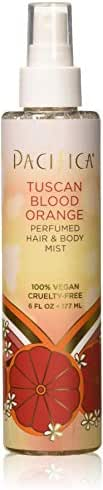 Pacifica Beauty Perfumed Hair & Body Mist, Tuscan Blood Orange, 6 Fl Oz (1 Count)