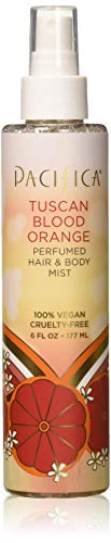 Pacifica Beauty Perfumed Hair & Body Mist, Tuscan Blood Orange, 6 Fl Oz (1 Count)