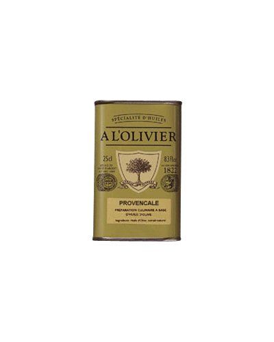 A L'Olivier Olive Oil Infused with Herbs Provence, 8.3 Ounce Tin