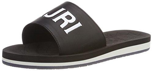 Abierta Con Sandalias black Footwear Ariel Schwarz Punta Napapijri Mujer wqSnXt8FWP