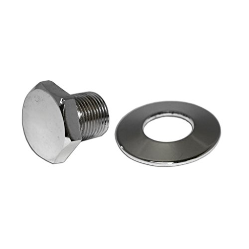 AA Performance Products Chrome Crank Pulley Nut & Washer