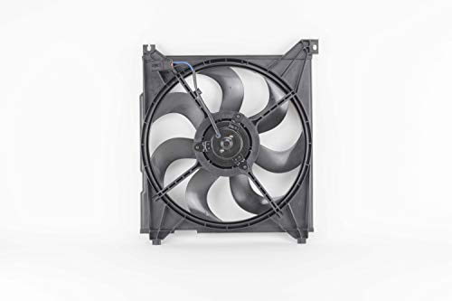 Engine Cooling Fan Assembly - Cooling Direct Fit/For 2538626200 01-06 Hyundai Santa Fe 2.4/2.7L (Exclude 3.5L)