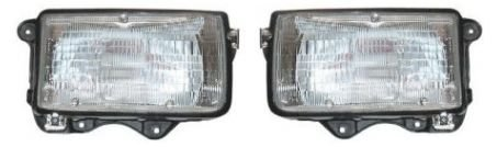 Isuzu Rodeo Headlamp - Headlights Headlamps Left & Right Pair Set for Isuzu Rodeo Honda Passport