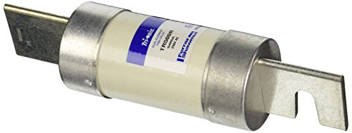 (Mersen TR-R Tri-Onic Time-Delay/Class RK5 Fuse, 250VAC/160VDC, 200kA AC/20kA DC, 500 Ampere, 2-9/16