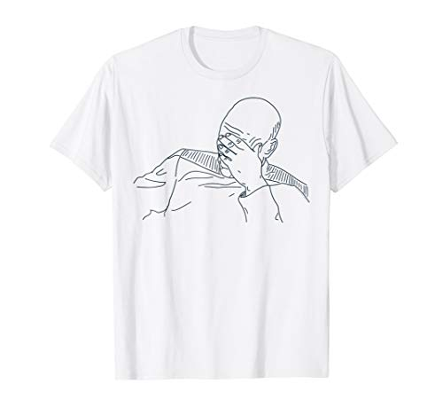 ation Picard Face Palm Graphic T-Shirt ()