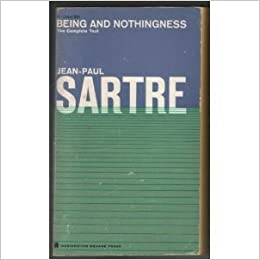 being and nothingness an essay on phenomenological ontology  being and nothingness an essay on phenomenological ontology jean paul sartre com books