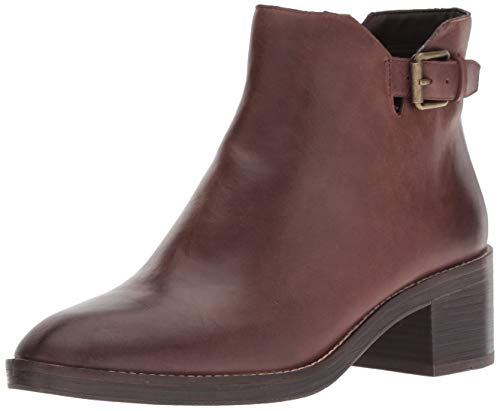 Cole Haan Chocolate (Cole Haan Women's Harrington Grand Buckle Boot Mid Calf, Bitter Chocolate, 7 B US)