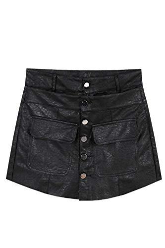 De Alta Culottes Bolsillos Sólido Mezclilla Cortos Solo Cintura Con Color Pecho Al Aire Borlas Un Black2 Libre Mujer Pantalones Ropa 5CwAxqwYI