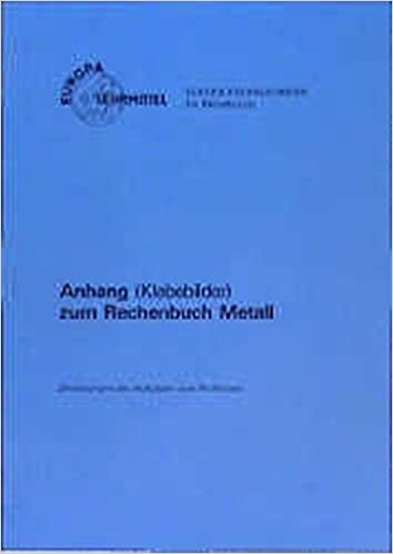 Rechenbuch metall: 9783808518564: amazon. Com: books.