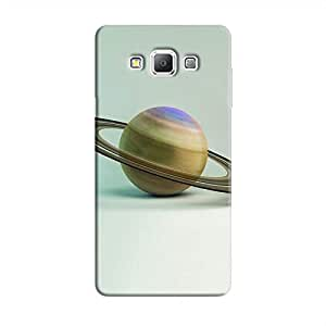 Cover It Up - Saturn on White Galaxy A7 Hard Case