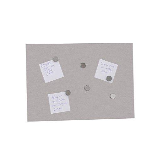 Amazonde TOP STAR Magnettafel Magnetischer Edelstahl Memoboard Magnetwand Inkl 6 Magneten