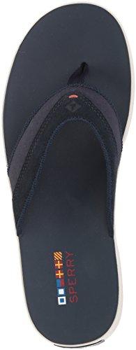 US Men's Sider Medium Top Sandal Flat Wahoo 12 Sperry Navy 4zUwSqwx