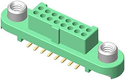 10POS 2ROW Pack of 2 RCPT 1.25MM, G125-FS11005F2P CONNECTOR