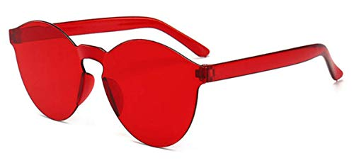 Mujer Gafas Ligero Gafas Retro UV400 Sol Súper Polarizadas Hombre de Espejo Gafas de Fliegend Marco Sol C9 Vintage Transparentes Unisex Sin Lente 0xFYwqR