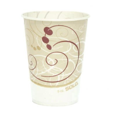 9 oz Waxed Paper Cold Cups