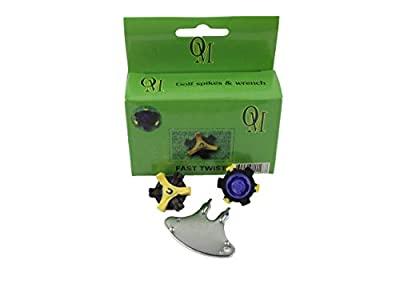 Oregon Mudders Fast Twist Replacement Golf Spikes