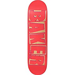 """The Baker OG shape is constructed for quick response and lasting durability. The T-Funk Punch Out Deck measures 8.3875"""" x 32"""" with a 14.5"""" wheelbase and mellow concave."""