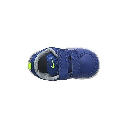 Nike Pico 4 (TDV) - Zapatillas de tenis para infantil Blanco / Plateado / Gris oscuro