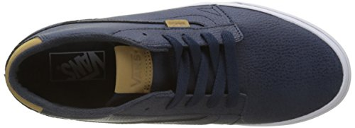 Uomo Seasonal Vans Leather Mid H17 Chapman Blu Sneaker BqwxgwS6P