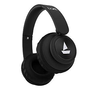 boAt Rockerz 450 Wireless Bluetooth Headphone (Luscious Black)