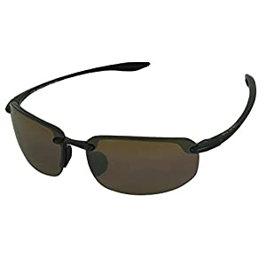 Maui Jim Sunglasses | Ho'okipa 407 | Rimless Frame, Polarized Lenses, with Patented PolarizedPlus2 Lens Technology