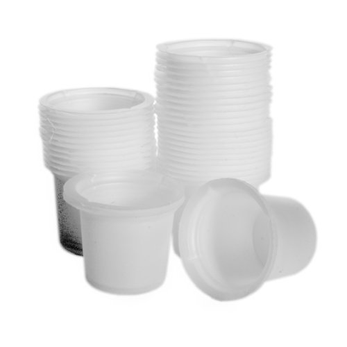 Dyn-A-Med 80090 Polystyrene Disposable Beaker, 20mL Capacity (Case of 500)