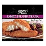 Trident Seafoods Panko Breaded Tilapia, 12 Ounce -- 12 per case.