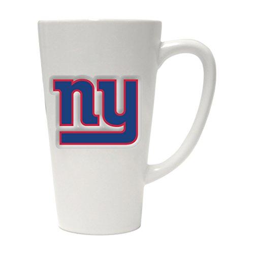 Boelter Brands NFL New York Giants Sculpted Latte Mug, 16-Ounce