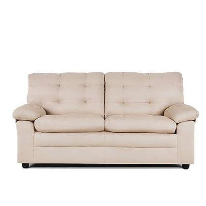 Superb Amazon Com Upholstered Apartment Sofa Dark Chocolate Soft Home Interior And Landscaping Oversignezvosmurscom