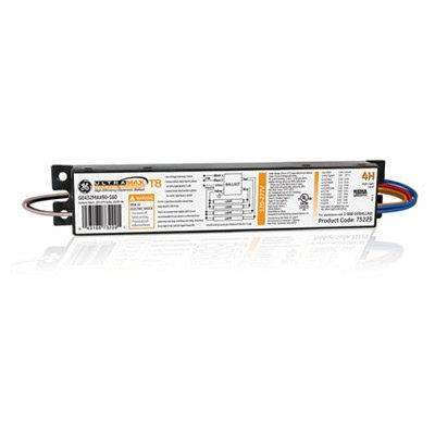 (GE 73229 LFL ULTRAMAX, Step Dimming Electronic Dimming Ballast, LINEAR FLOURESCENT BALLAST, PARALLEL LAMP WIRING, 1-PACK )