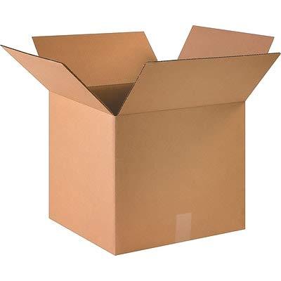 32 ECT Brown, 4 Bundles 16 x 14 x 6 Shipping Boxes - 25//Bundle 16146