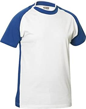 CliQue Raglan Two-Tone Short-Sleeved T-Shirt Brook The dischen Swedish brand  quality with Slit Crew Neck Football Shirt Style in 10 colors sizes S c6797de58