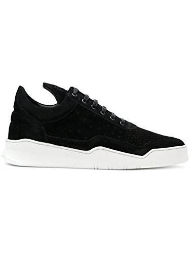 Filling Pieces - Low Top Ghost Gradient Perforated - Black 25201611861