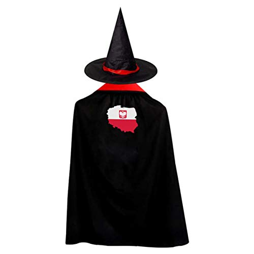 Map of Poland National Flag Halloween Costumes