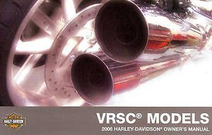 2006 Harley Davidson Owner's Manual VRSC