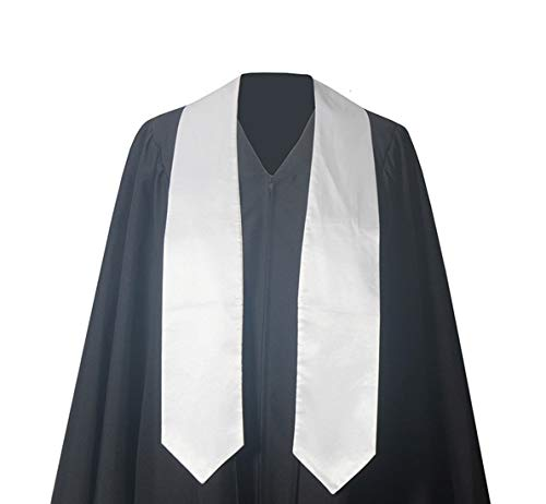 GraduationForYou Unisex Adult Plain Graduation Stole,60