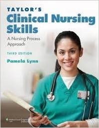 Book Taylor's Clinical Nursing Skills: A Nursing Process Approach Third, North American Edition