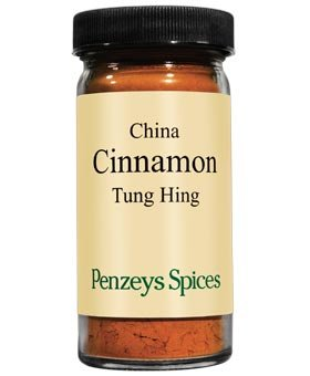 China Tung Hing Cinnamon Ground By Penzeys Spices 1.7 oz 1/2 cup jar