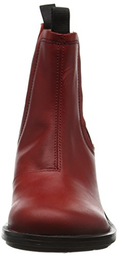 Chelsea London Rouge Bottes Coop043fly red Femme Fly qt1dUORwq
