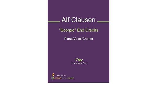 Scorpio End Credits